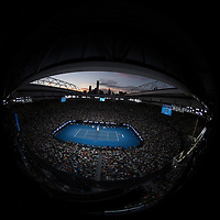 A general view of Rod Laver Arena on day seven of the 2017 Australian Open at Melbourne Park on January 22, 2017 in Melbourne, Australia.<br /> (Ben Solomon/Tennis Australia)