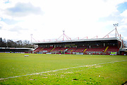 Crawley Checkatrade.com Stadium before the Sky Bet League 2 match between Crawley Town and Hartlepool United at the Checkatrade.com Stadium, Crawley, England on 19 March 2016. Photo by Jon Bromley.