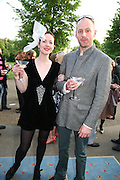 NOEL STEWART AND GIADA ELENA DOBRZENSKY DE DOBRZENICZ. The London Magazine party to celebrate the New London Season and the TLM award for the Best-Dressed Man and Woman. Serpentine Gallery. 21 May 2008.  *** Local Caption *** -DO NOT ARCHIVE-© Copyright Photograph by Dafydd Jones. 248 Clapham Rd. London SW9 0PZ. Tel 0207 820 0771. www.dafjones.com.