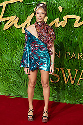 © Licensed to London News Pictures. 04/12/2017. London, UK.  ADWOA ABOAH arrives for The Fashion Awards 2017 held at the Royal Albert Hall. Photo credit: Ray Tang/LNP