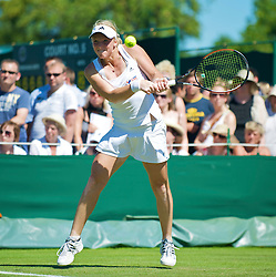 LONDON, ENGLAND - Tuesday, June 23, 2009: Patricia Mayr (AUT) during the Ladies' Singles 1st Round match on day two of the Wimbledon Lawn Tennis Championships at the All England Lawn Tennis and Croquet Club. (Pic by David Rawcliffe/Propaganda)
