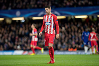 LONDON,ENGLAND - DECEMBER 05: Atletico Madrid (19) Lucas Hernández during the UEFA Champions League group C match between Chelsea FC and Atletico Madrid at Stamford Bridge on December 5, 2017 in London, United Kingdom.  <br /> ( Photo by Sebastian Frej / MB Media )
