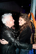 NICKY HASLAM; OLIVIA COLE, An evening at Sanderson to celebrate 10 years of Sanderson, in aid of Clic Sargent. Sanderson Hotel. 50 Berners St. London. W1. 27 April 2010 *** Local Caption *** -DO NOT ARCHIVE-© Copyright Photograph by Dafydd Jones. 248 Clapham Rd. London SW9 0PZ. Tel 0207 820 0771. www.dafjones.com.<br /> NICKY HASLAM; OLIVIA COLE, An evening at Sanderson to celebrate 10 years of Sanderson, in aid of Clic Sargent. Sanderson Hotel. 50 Berners St. London. W1. 27 April 2010
