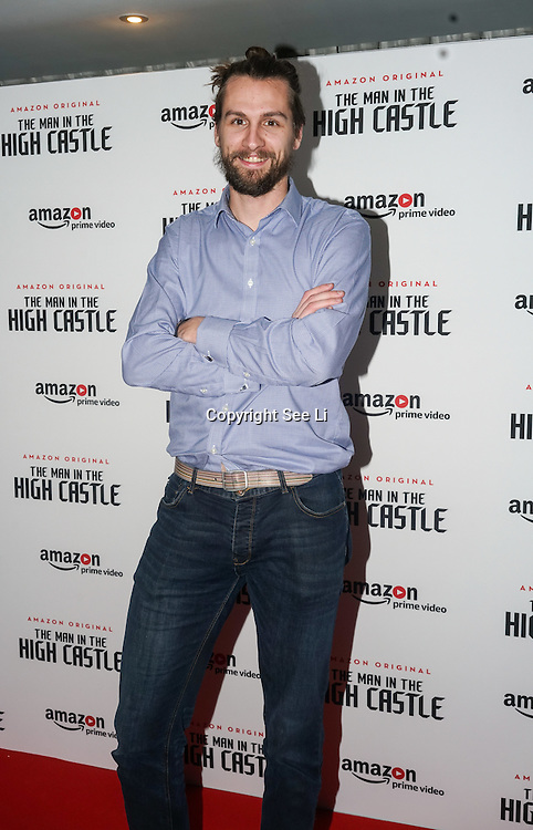 Paul Bennet attend the European Premiere of Season 2 of The Man in the High Castle, available on Amazon Prime video Friday December 16 2016 at Curzon Bloomsbury on 14th December 2016, London,UK. Photo by See Li