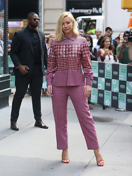 Iggy Azalea wears pink pant suit to AOL Build in NYC. 21 Aug 2018 Pictured: Iggy Azalea. Photo credit: TS / MEGA TheMegaAgency.com +1 888 505 6342