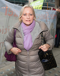 **File picture of CHRISTINE SHAWCROFT  who has resigned from The head of the Labour Party's disputes panel after it emerged she opposed the suspension of a council candidate accused of Holocaust denial**<br /> © Licensed to London News Pictures. 22/01/2018. London, UK. New chair of the National Executive Committee's Discipline Panel CHRISTINE SHAWCROFT arrives at Labour Party headquarters ahead of an NEC (National Executive Committee) meeting. Photo credit: Ben Cawthra/LNP
