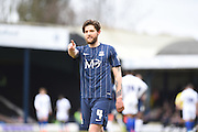 Southend United midfielder Anthony Wordsworth scores (1-0) during the Sky Bet League 1 match between Southend United and Gillingham at Roots Hall, Southend, England on 19 March 2016. Photo by Martin Cole.