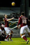 Zander Diamond of Northampton Town (left) during the Sky Bet League 2 match at Sixfields Stadium, Northampton<br /> Picture by Andy Kearns/Focus Images Ltd 0781 864 4264<br /> 14/11/2015