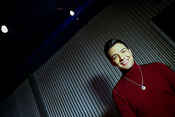 "ANAHEIM, CA - DEC 17: Singer Luis Coronel performs live on stage during his ""Noche Navideña"" concert at the City National Grove of Anaheim on December 17, 2017 in Anaheim, California. Byline, credit, TV usage, web usage or linkback must read SILVEXPHOTO.COM. Failure to byline correctly will incur double the agreed fee. Tel: +1 714 504 6870."