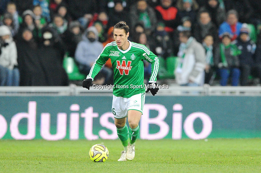 Jeremy CLEMENT  - 06.02.2015 - Saint Etienne / Lens - 24eme journee de Ligue 1 -<br /> Photo : Jean Paul Thomas / Icon Sport