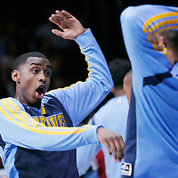 15 April 2014: Denver Nuggets forward Quincy Miller (30) is seen during the players introduction prior to the Los Angeles Clippers 117-105 victory over the Denver Nuggets at the Staples Center, Los Angeles, California, USA.