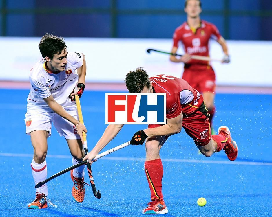 Odisha Men's Hockey World League Final Bhubaneswar 2017<br /> Match id:18<br /> Belgium v Spain<br /> Foto: <br /> COPYRIGHT WORLDSPORTPICS FRANK UIJLENBROEK