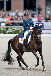 Maas Lynne, NED, Electra<br /> World Championship Young Dressage Horses <br /> Ermelo 2016<br /> © Hippo Foto - Dirk Caremans<br /> 29/07/16