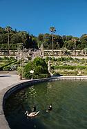 Villa Garzoni's garden, the big fountain
