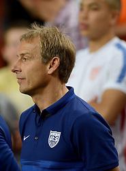 05-06-2015 NED: Oefeninterland Nederland - USA, Amsterdam<br /> Oranje verliest oefeninterland tegen Verenigde Staten met 4-3 / Coach Jurgen Klinsman