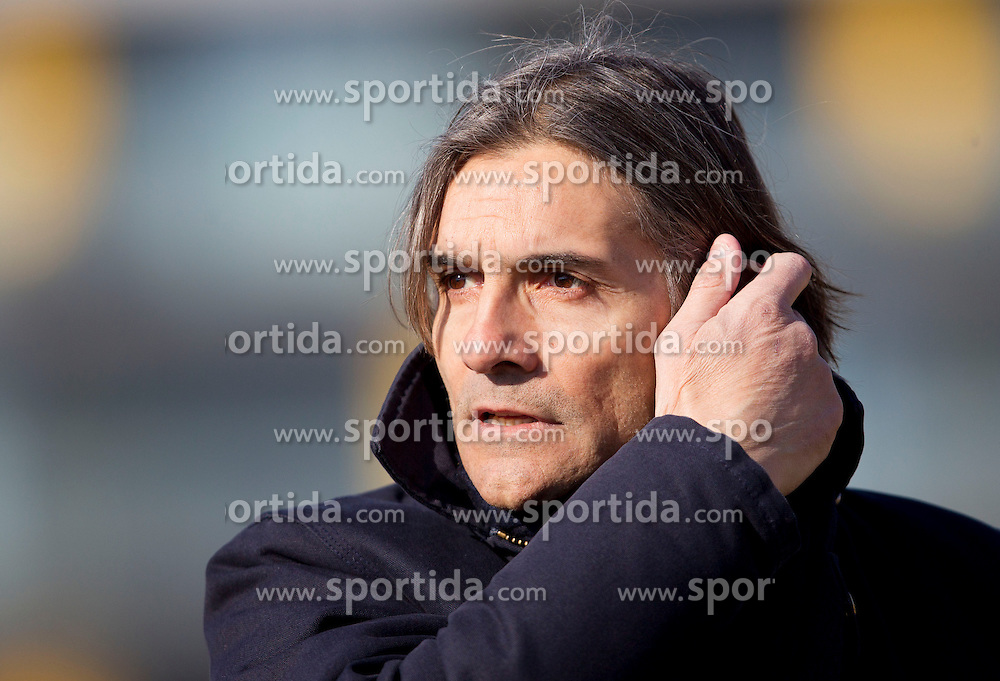Rodolfo Vanoli, head coach of Luka Koper during football match between NK Domzale and FC Luka Koper in 22nd Round of Prva liga Telekom Slovenije 2012/13, on March 3, 2013 in Sports park Domzale, Slovenia.  (Photo By Vid Ponikvar / Sportida)