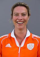 UTRECHT - Manager Femke Kooijman. Jong Oranje meisjes -21 voor EK 2014 in Belgie (Waterloo). COPYRIGHT KOEN SUYK