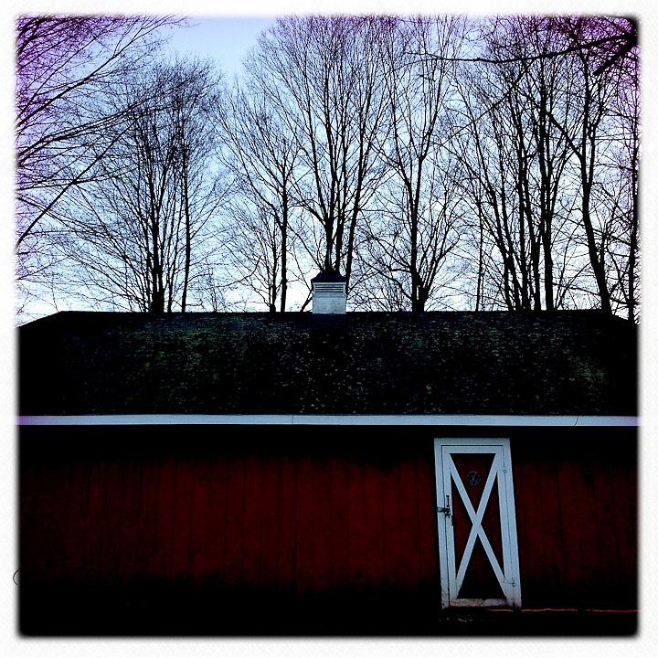 Red barn - Dutchess County, New York