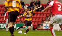 Photo: Alan Crowhurst.<br />Swindon Town v Boston Utd. The FA Cup. 05/11/2005.<br />Boston's Simon Rusk opens the scoring.