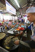 Malaysia, Kuala Lumpur. Chinatown. Chinese restaurants.