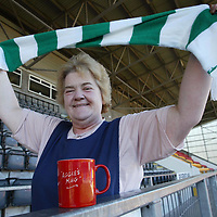 St Johnstone tea lady Aggie Moffat famous for her run in with Graeme Souness a few years ago, looking forward to attending Celtic Park tommorrow, were she is hoping her bhoys give a hiding to Souness's Blackburn.<br />