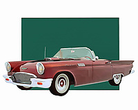 Imaging getting behind the wheel of a vehicle such as this. The Ford Thunderbird is a vehicle with a great deal of history underneath the hood. This is a car that was ideal for people who were serious about going fast. It featured a truly classic exterior design, as well.