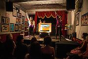 CAFÉ CONCRET #19, Casa del Popolo, Samedi 18 octobre 2014, Café Concret : Une brève histoire du temps: Antonia Leney-Granger, Diana the Huntress: Twigs for Bones (Heather Caplap, Erin Hill, Joy Ross-Jones).