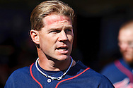 October 1, 2009: Minnesota Twins' Ron Mahay (37) during the MLB game between the Minnesota Twins and Detroit Tigers at Comerica Park, Detroit, Michigan.