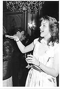 Lady Tania Cochrane. London deb party. 1984 approx. © Copyright Photograph by Dafydd Jones 66 Stockwell Park Rd. London SW9 0DA Tel 020 7733 0108 www.dafjones.com