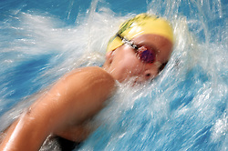 2010 FEB 27:Colorado State University's Kathleen McCleary competes in the women's 1650 freestyle race during the Mountain West Conference Swimming and Diving Championships at the Oklahoma Community College Aquatic Center in Oklahoma City, Oklahoma. Joshua Duplechian/NCAA Photos