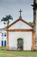 Capela de Santa Rita. Paraty, Brazil.