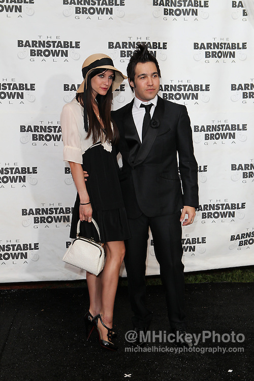 Ashlee Simpson and Pete Wentz seen at the Barnstable Brown Gala in Louisville, Kentucky.