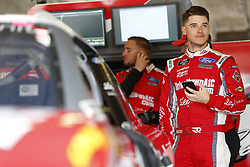April 6, 2018 - Ft. Worth, Texas, United States of America - April 06, 2018 - Ft. Worth, Texas, USA: Ryan Reed (16) gets ready to practice for the My Bariatric Solutions 300 at Texas Motor Speedway in Ft. Worth, Texas. (Credit Image: © Stephen A. Arce/ASP via ZUMA Wire)