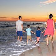 Sieczkowski Family Beach Photos
