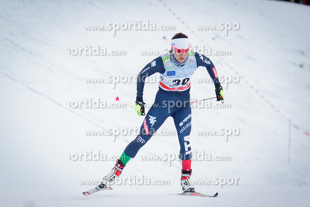 Greta Laurent (ITA) during Ladies 1.2 km Free Sprint Qualification race at FIS Cross<br /> Country World Cup Planica 2016, on January 16, 2016 at Planica,Slovenia. Photo by Ziga Zupan / Sportida