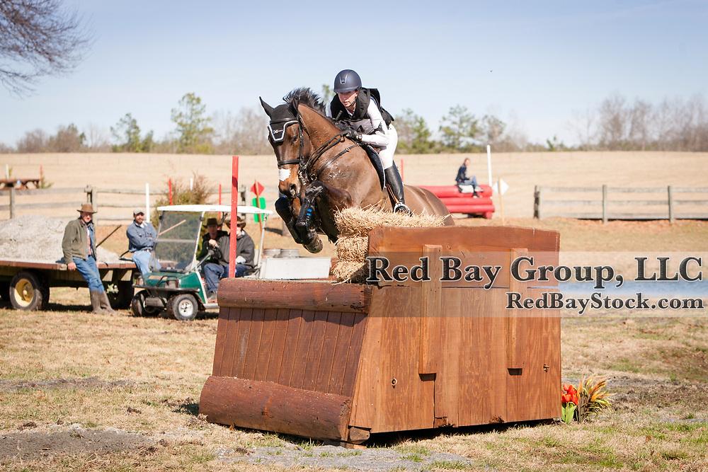 Kendal Lehari and Totally Frank at the 2014 Pine Top Farm Advanced Horse Trials in Thomson, Georgia.