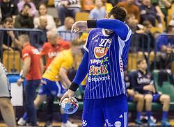 Banhidi Bence  of MOL Pick Zseged during VELUX EHF Champions League handball match between RK Celje Pivovarna Lasko vs MOL Pick Szegad on the February 10. 2019, Celje, Slovenia. Photo by Matic Ritonja / Sportida