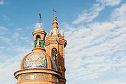 Church tower in Sevilla (Spain)