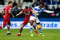 Joe Bryan of Bristol City is challenged by Idrissa Sylla of Queens Park Rangers - Rogan/JMP - 23/12/2017 - Loftus Road - London, England - Queens Park Rangers v Bristol City - Sky Bet Championship.