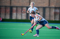 England's Laura Unsworth. England v Belgium, Bisham Abbey, Marlow, UK on 09 May 2014. Photo: Simon Parker