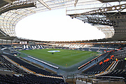 Hull City KCOM ground before the EFL Sky Bet Championship match between Hull City and Derby County at the KCOM Stadium, Kingston upon Hull, England on 26 December 2017. Photo by Ian Lyall.