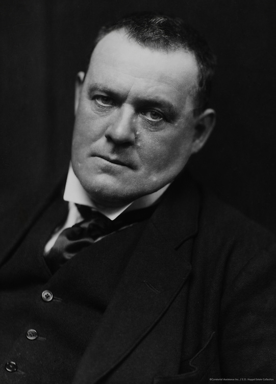 Hilaire Belloc, writer and historian, England, UK, 1917