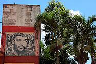 Image of Ernesto Che Guevara in Guira de Melena, Mayabeque, Cuba.