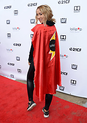 2nd Annual Lollipop Superhero Walk Benefiting Lollipop Theater Network. 29 Apr 2018 Pictured: Marilyn Flores. Photo credit: MEGA TheMegaAgency.com +1 888 505 6342