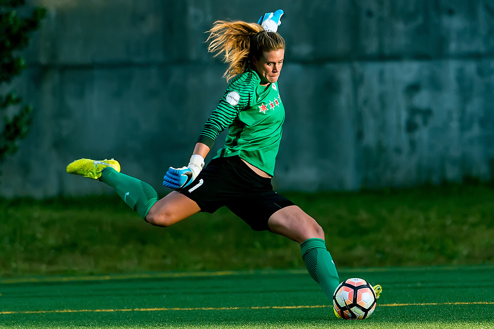 The 2017 NWSL soccer match between the Seattle Reign FC and the Chicago Red Stars at Memorial Stadium, Seattle, Washington.<br /> <br /> The Seattle Reign FC topped the Chicago Red Stars 2-1.<br /> <br /> Photo Credit: Alika Jenner