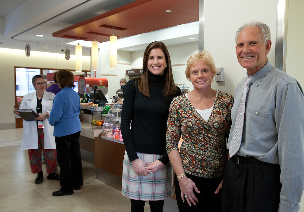 Weymouth, MA 11/22/2011.Diana McDevitt, Sally Goldman, and Steve Goldman of the Weymouth Club.For South Shore Hospital President's Circle Ad..Alex Jones / www.alexjonesphoto.com