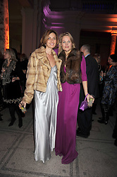 LENA NOVIKOVA and ANGIE DIGGLE at a reception to celebrate the opening of 'Magnificence Of The Tsars' the new exhibition at the V&A held on 9th December 2008.