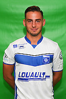 Ruben Aguilar of Auxerre during Auxerre squad photo call for the 2016-2017 Ligue 2 season on September, 7 2016 in Auxerre, France ( Photo by Andre Ferreira / Icon Sport )