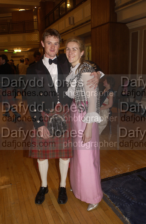 The Royal Caledonian Ball 2004. Grosvenor House, 21 May 2004. ONE TIME USE ONLY - DO NOT ARCHIVE  © Copyright Photograph by Dafydd Jones 66 Stockwell Park Rd. London SW9 0DA Tel 020 7733 0108 www.dafjones.com