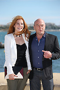 08.OCTOBER.2013. CANNES<br /> <br /> RACHELLE LEFEVRE AND DEAN NORRIS AT THE PHOTOCALL OF 'UNDER THE DOMES' AT THE MIPCOM FESTIVAL IN CANNES, FRANCE.<br /> <br /> BYLINE: EDBIMAGEARCHIVE.CO.UK<br /> <br /> *THIS IMAGE IS STRICTLY FOR UK NEWSPAPERS AND MAGAZINES ONLY*<br /> *FOR WORLD WIDE SALES AND WEB USE PLEASE CONTACT EDBIMAGEARCHIVE - 0208 954 5968*